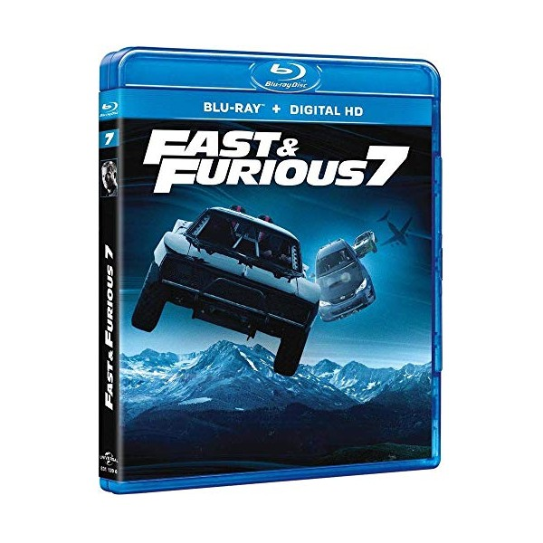 fast furious 7 blu ray copie digitale blu ray bluray mania. Black Bedroom Furniture Sets. Home Design Ideas