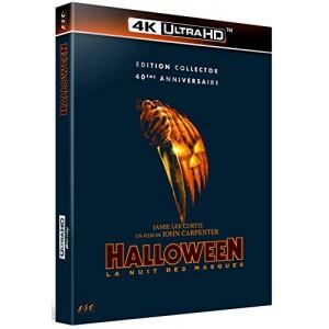 détaillant large sélection nouveaux produits chauds Halloween - La nuit des masques - 4k ultra hd + blu-ray ...