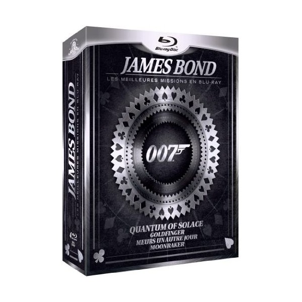 coffret james bond les meilleurs missions en blu ray blu ray bluray mania. Black Bedroom Furniture Sets. Home Design Ideas