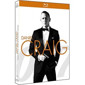 coffret james bond 007 daniel craig la trilogie casino royale quantum of solace blu ray. Black Bedroom Furniture Sets. Home Design Ideas
